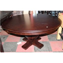 SHOWHOME ROUND WOOD TABLE