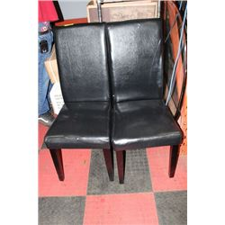 #1 PAIR OF SIDECHAIRS (SMALL RIP)