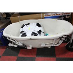 JETTED JACCUZI TUB WITH PUMP