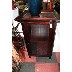 WOOD TRAY TOP CABINET