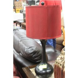 SHOWHOME BLACK AND RED LAMP