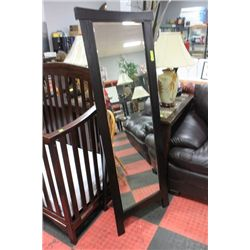 #20 SHOWHOME FLOOR STANDING WOOD MIRROR