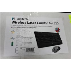 LOGITECH MK520 WIRELESS KEYBOARD & MOUSE