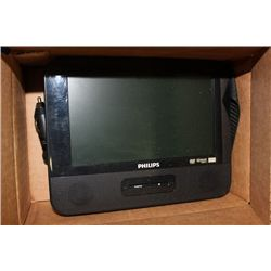 PHILLIPS SINGLE SCREEN CAR / PORTABLE DVD PLAYER