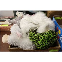 TRAY OF10 WEBKINZ STUFFED ANIMALS