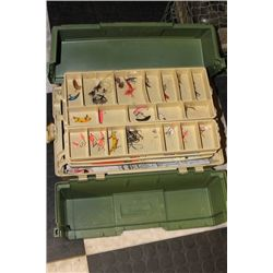 TACKLE BOX AND NET