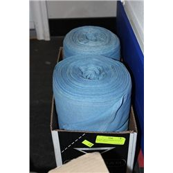 BOX W/ TWO COMMERCIAL HAND TOWEL ROLLS