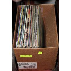 BOX OF MAINSTREAM/ROCK RECORDS