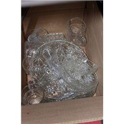 BOX OF PIN WHEEL CRYSTAL