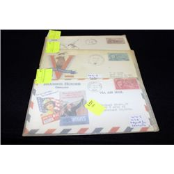 WWII USA COVERS (ENVELOPE), x3