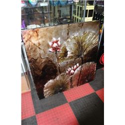 #31 SHOWHOME FLORAL CANVAS PICTURE