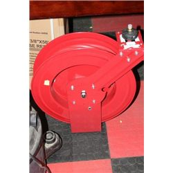 "NEW 3/8"" X 50' AIR HOSE REEL W HOSE"