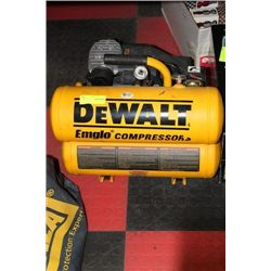 DEWALT TWIN TANK AIR COMPRESSOR