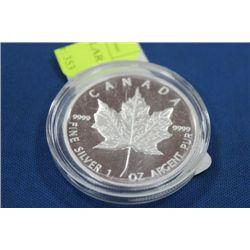 1 OZ SILVER CANADA 2013 5 DOLLAR COIN