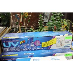 RAINFRESH UV WATER DISINFECTION SYSTEM, NEW IN BOX