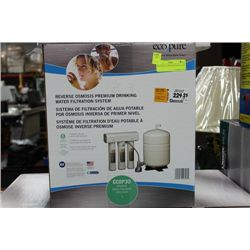 ECOPURE FILTRATION SYSTEM, NEW