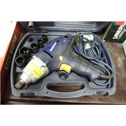 "#26 MASTERCRAFT 1/2"" ELECTRIC IMPACT WRENCH"