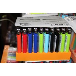 BOX OF 50 BIC LIGHTERS