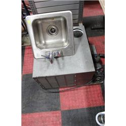 ST STEEL SINK SOLD W COMMERCIAL REFRIDGERANT