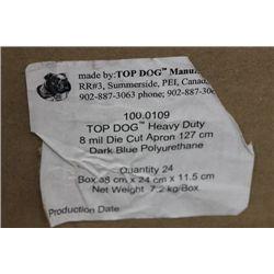 CASE OF TOP DOG 8MM DIE CUT APRONS