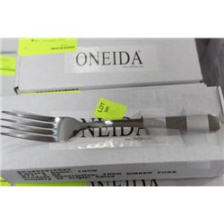 CASE OF 3 DOZEN ONEIDA COMMERCIAL GRADE DINNER