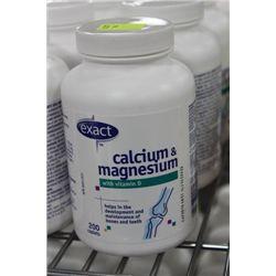 BOTTLE W 200 CALCIUM AND MAGNESIUM CAPLETS