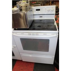 MAYTAG GLASSTOP STOVE