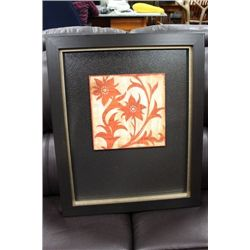 SHOWHOME FRAMED FLORAL PICTURE