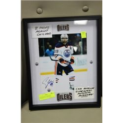 SAM GAGNER GUARANTEED AUTHENTIC AUTOGRAPHED