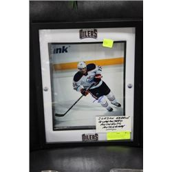 JORDAN EBERLE GUARANTEED AUTHENTIC AUTOGRAPHED