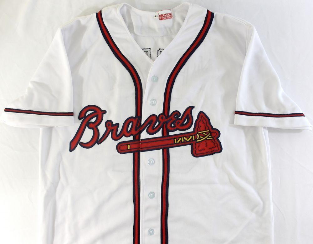 newest da50b 4956a Greg Maddux Signed Braves Jersey (JSA COA)