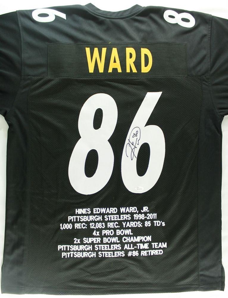 7efb849480e Image 1 : Hines Ward Signed Steelers Stat Jersey (JSA COA) · Image 2 ...