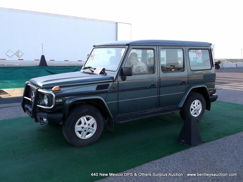 1994 MERCEDES G300 UTILITY SUV, 4WD ~ 42,461 MILES VIN: WDB46322817095102,  SUV, 6 CYLINDER, 1/4 GAS,