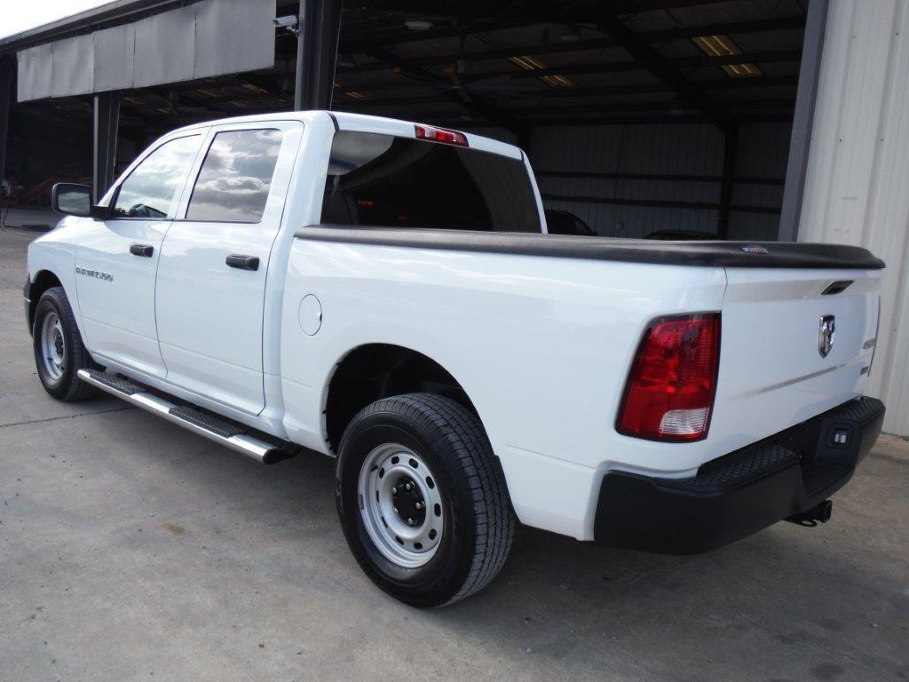 2012 Dodge Ram 1500 Crew Cab 4x4 Pickup S N 1c6rd7kp7cs231590 V8 Quad Image 4