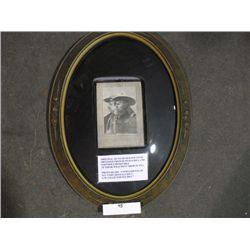 Original 102 year old Wild West Show Souvenir Photo
