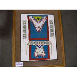 North American Indian Beaded Dance Outfit