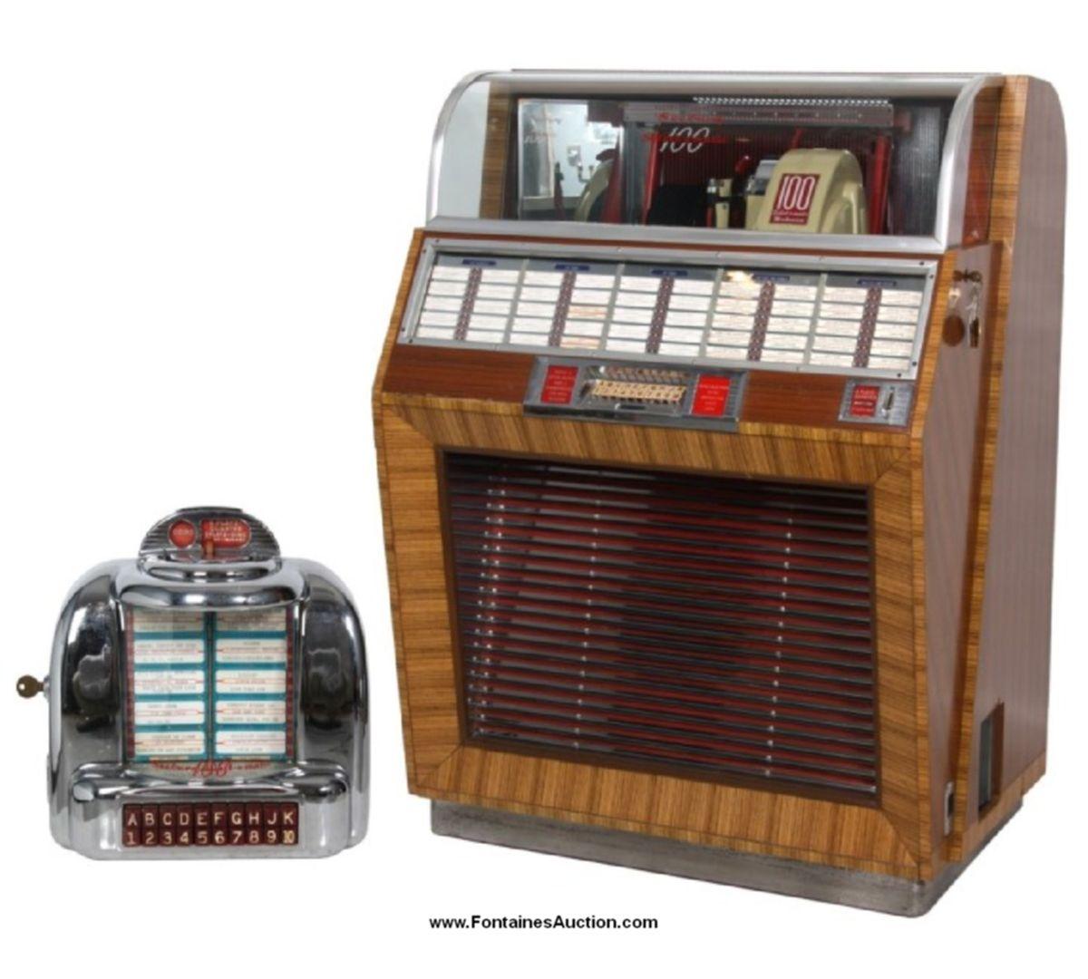 Seeburg Model 100A Jukebox W/ Wall Box - 1949