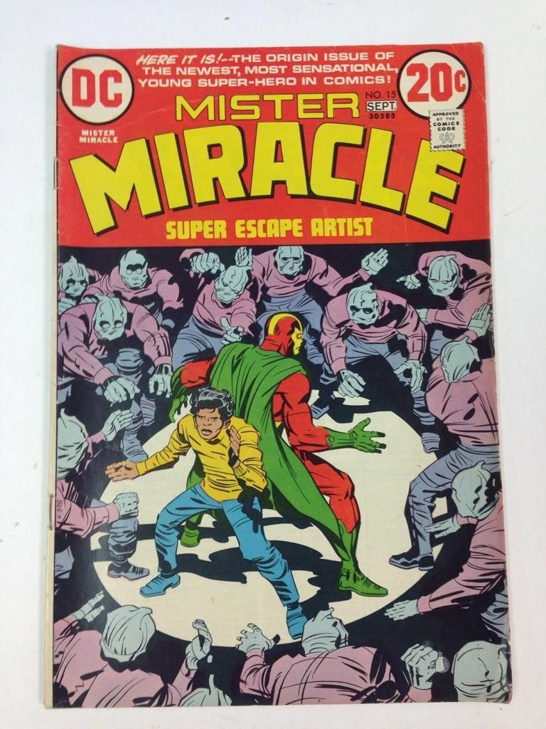 (8) DC Mister Miracle Comics from the 70's for one money