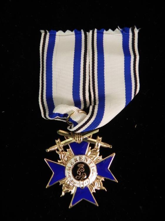 German WWI Medal Bavaria Military Merit Order Cross