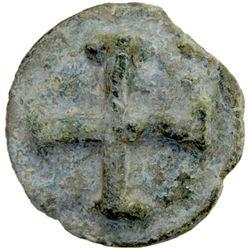 LUCERIA: Anonymous, 271-212 BC, AE aes grave quincunx (38.02g), Apulia