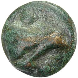 LUCERIA: Anonymous, after 220 BC, AE aes grave (54.08g), Apulia