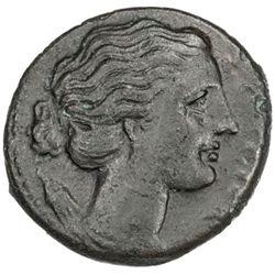 SICILY: Agathokles, 317-289 BC, AE23 (8.24g), Syracuse