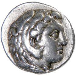 MACEDONIA: Alexander III, 336-323 BC, AR tetradrachm (17.11g), Aradus