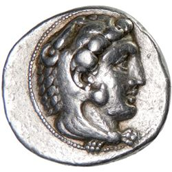 MACEDONIA: Alexander III, 336-323 BC, AR tetradrachm (17.09g), Myriandros