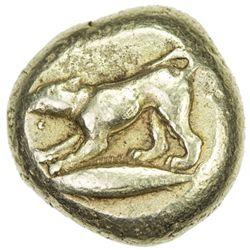 MYSIA: Anonymous, ca. 500-450 BC, EL stater (16.07g), Kyzikos, 1652
