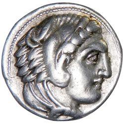 PARION: Alexander III, 336-323 BC, AR tetradrachm (17.05g)