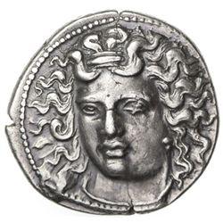 LARISSA: Anonymous, 350-325 BC, AR drachm (6.16g), Thessaly