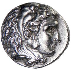SYRIA (SELEUCID KINGDOM): Seleukos I Nikator, BC 312-280, AR tetradrachm (16.95g), Babylon