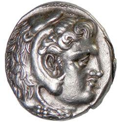 SYRIA (SELEUCID KINGDOM): Seleukos I Nikator, BC 312-280, AR tetradrachm (16.91g), Ekbatana