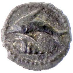 PHOENICIA: Anonymous, ca. 450-410 BC, AR 1/24 shekel (0.44g), Tyre